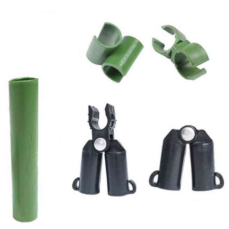 Plastic Plant Stakes Connectors-fixed Clamp