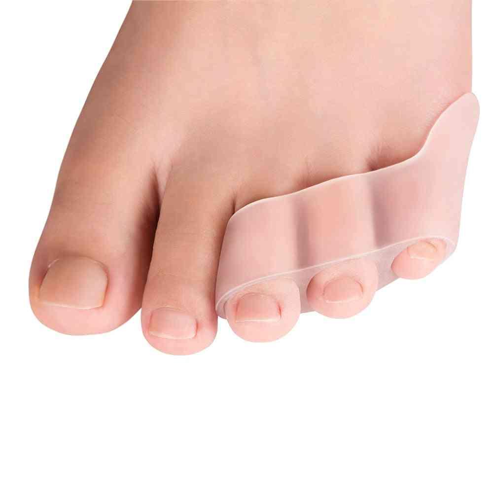 Three Hole Toe Separator - Transparent Foot Care Tool