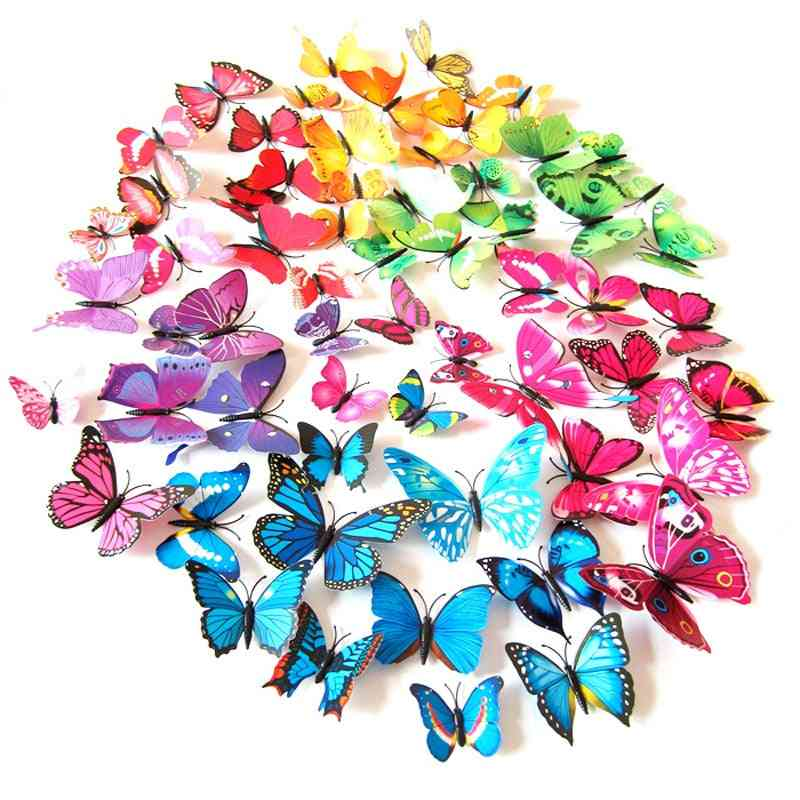 Artificial Butterfly For Wind Spinners And Garden Decorations