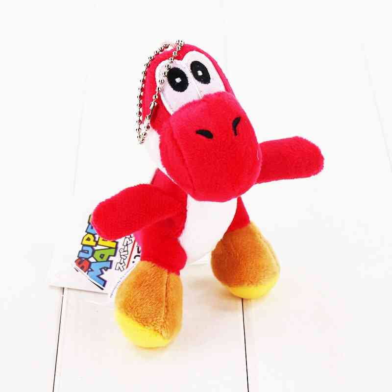 Stuffed Soft Pendant Dolls With Key Chain And Ring For