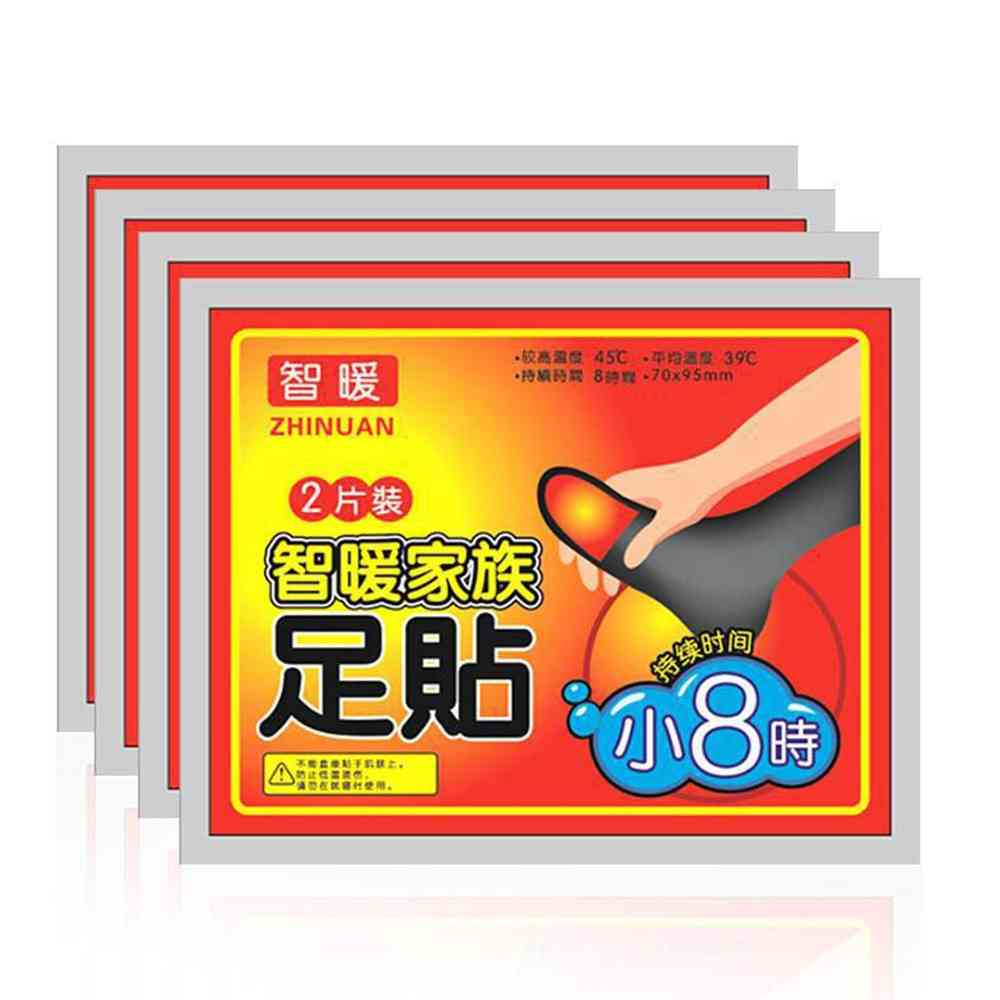 Winter Body Foot Warmer Sticker - Heat Adhesive Patches