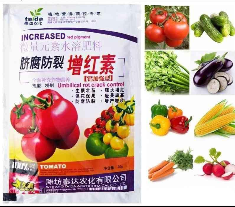 Special Vegetable Fertilizer Supplemental Plant Nutrition Homobrassinolide Expanded Fruit Rapid Rooting For Home Garden