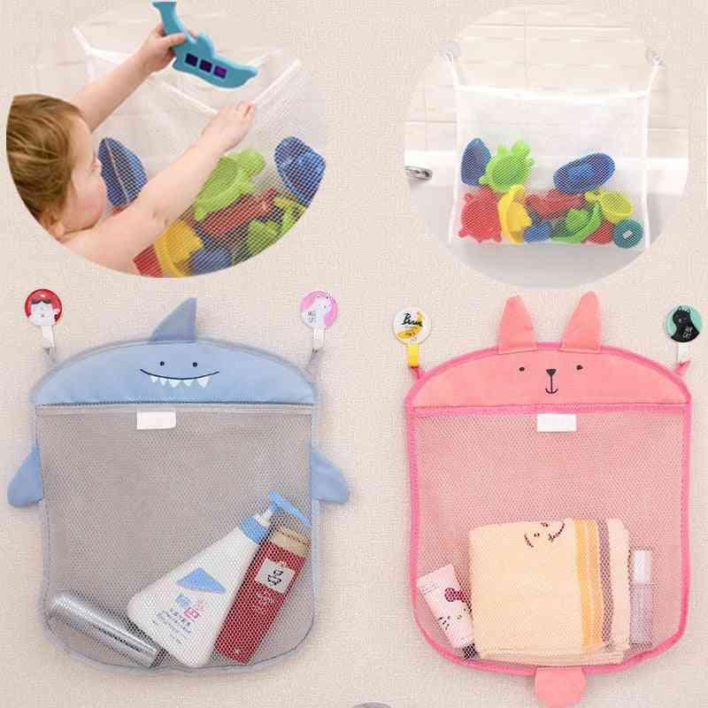 Baby Bathroom Mesh Bag For Bath - Waterproof Cloth Bag For