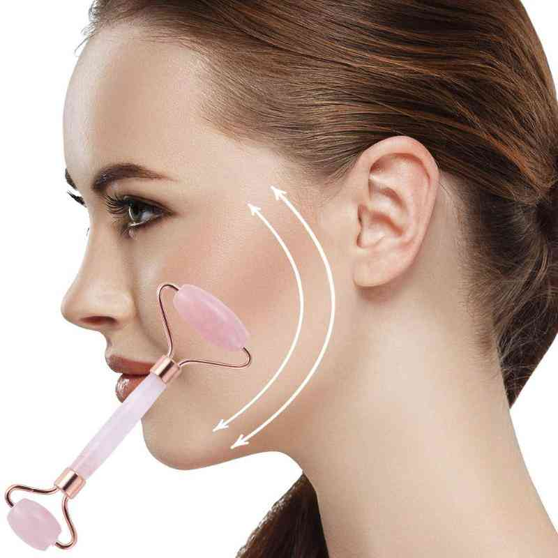 Double Head Face Slimming, Lifting Massage Tool - Anti Wrinkle Roller For Home Use