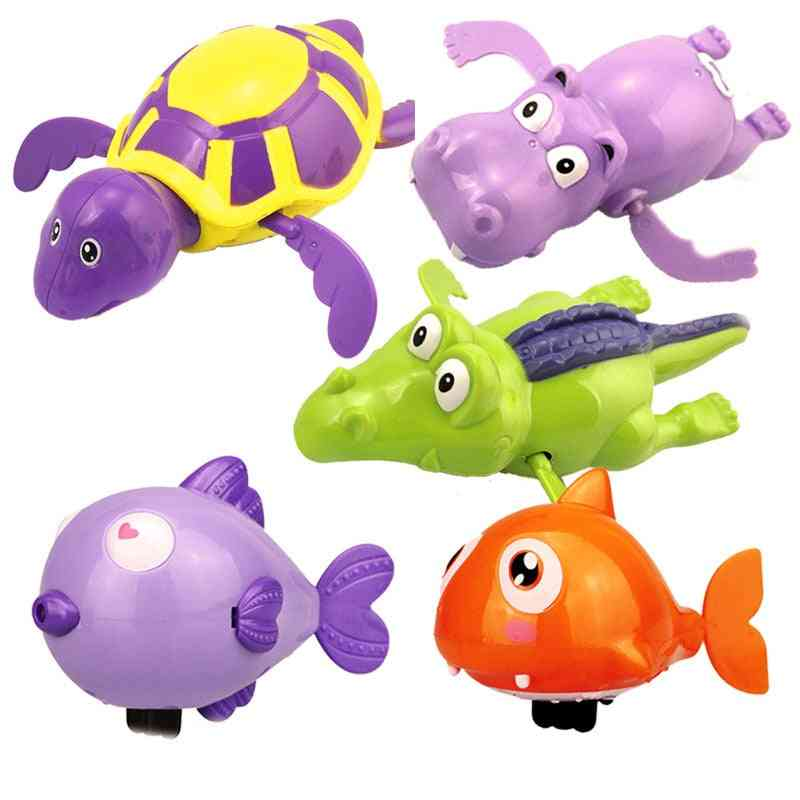 1pcs Bath Turtle Dolphin Baby Shower, Baby Wind Up, Swim Play Toy, Swimming Pool Accessories