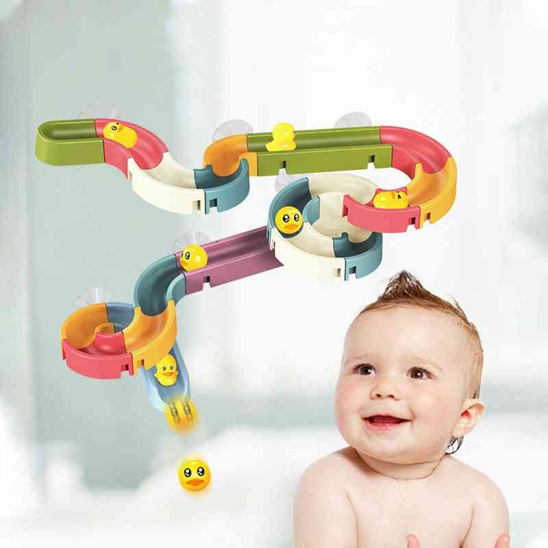 Bath For Baby Bathroom With Wall Suction - Diy Water Games Tool