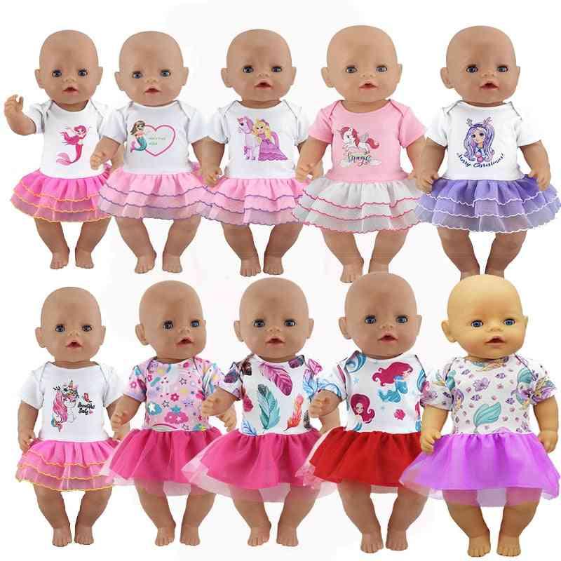 Fashion Doll Dress High-quality Clothes Fit 17 Inch 43cm Doll