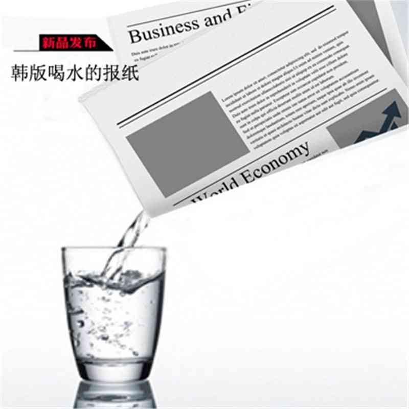 Drink In Water Newspaper Hidden Water Magic Tricks - Procps Classic Illusions