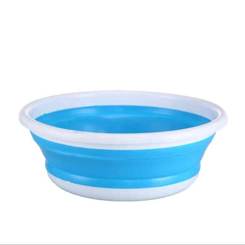 Portable Foldable Wash Basin, Bucket For Vegetable, Fruits - Kitchen Accessories