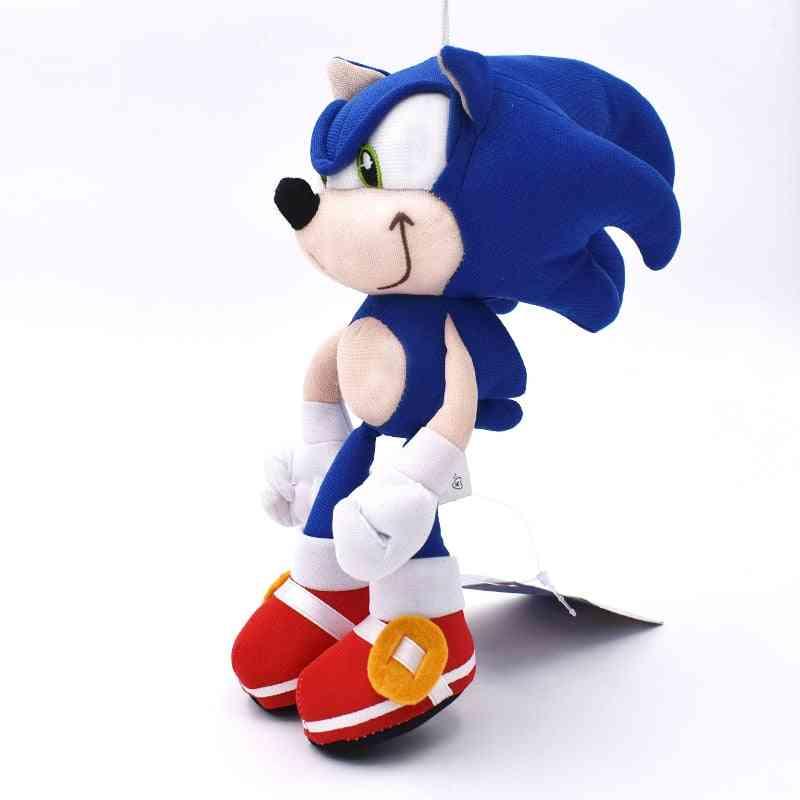 Sonic Boom Cartoon Pp Cotton Soft Blue Plush