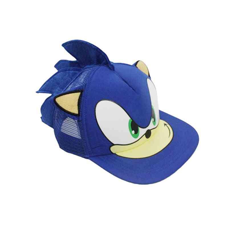 Cute Sonic Cartoon Youth Adjustable Baseball Cap