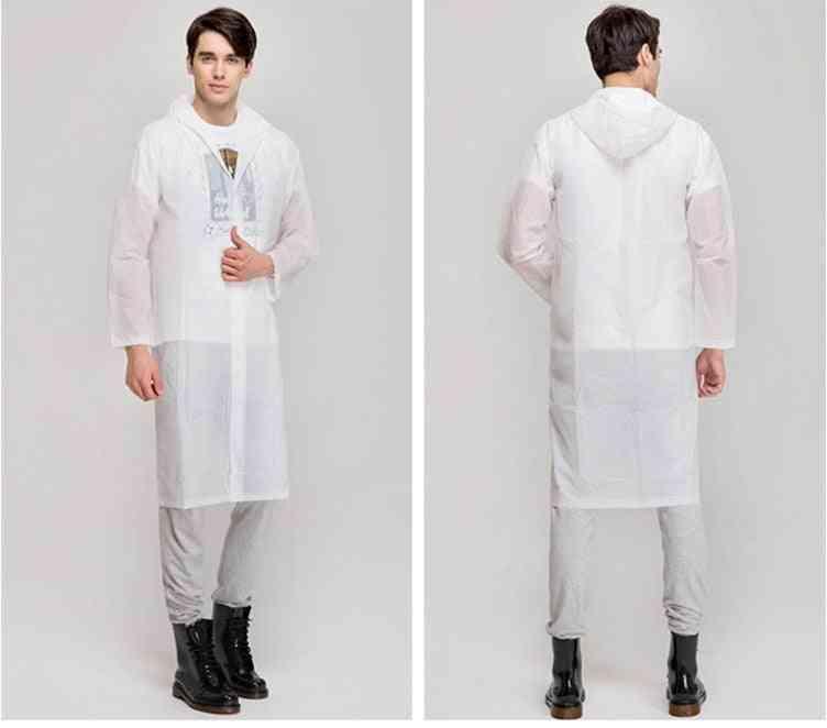 Transparent Raincoat / Men