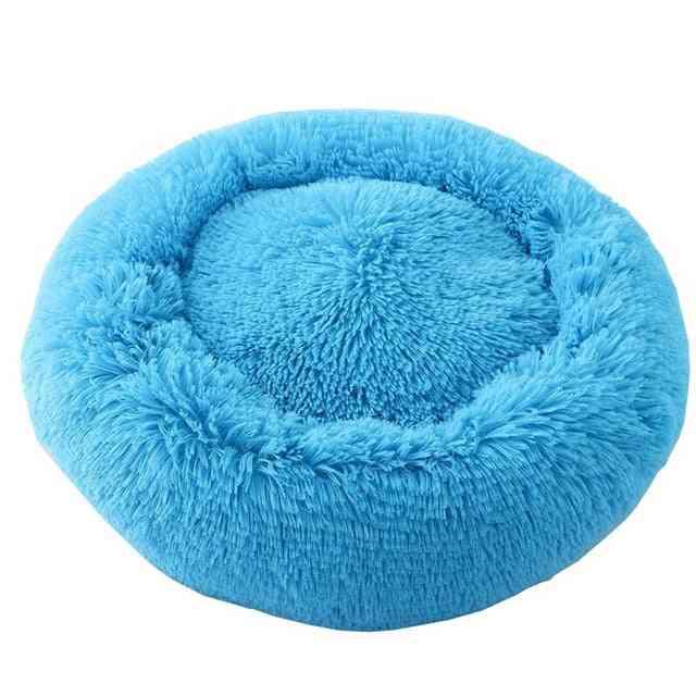 Dog & Cat Long Plush Calming Beds - Ultra Soft