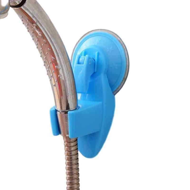 Bathroom Shower Head Holder - Wall Suction Vacuum Cup