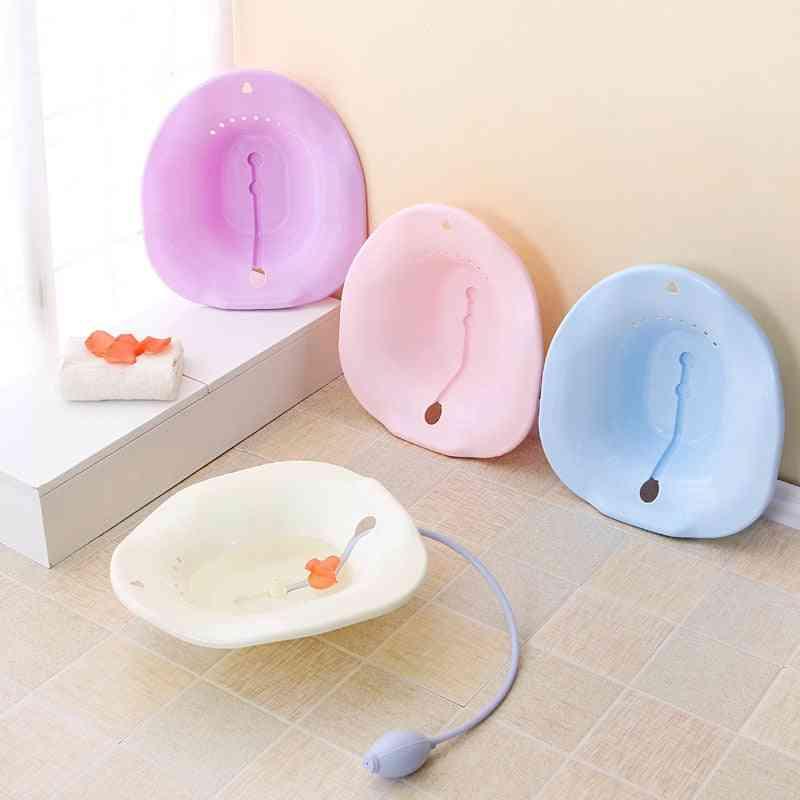 Postpartum Sitting Basin Of Pregnant - Patients Bathroom Postoperative Care Basin
