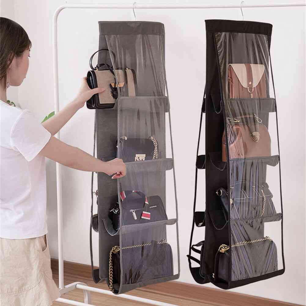 Large Storage Anti Dust Pocket, Foldable Hanging Organizer