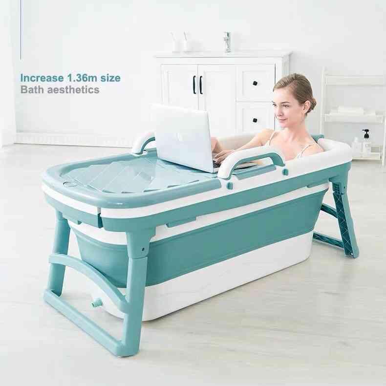 Portable, Inflatable & Portable Bathtub - Household