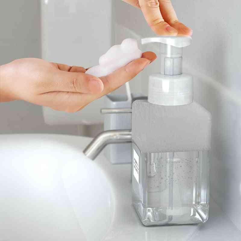 Soap Foam Foaming Pump Empty Square Bottle