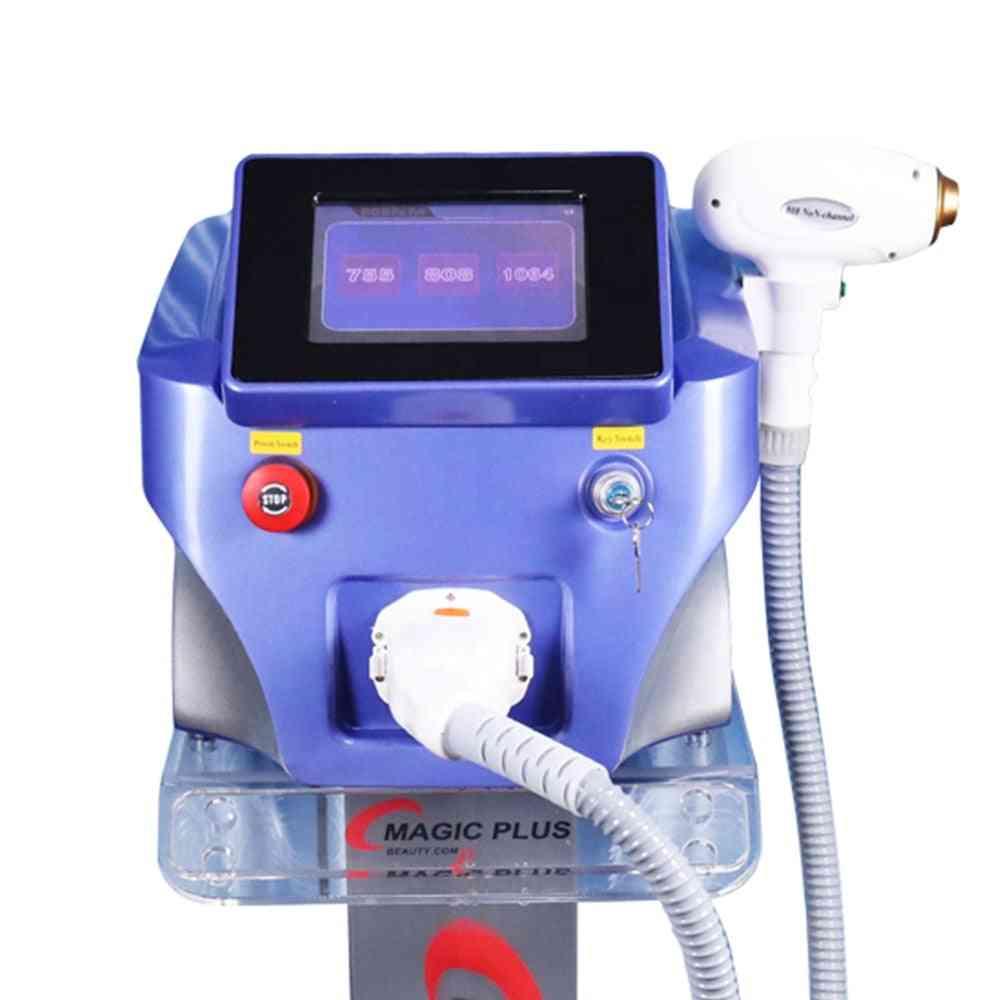 Led Skin Rejuvenation Machine - Diode Laser Hair And Pigment Removal