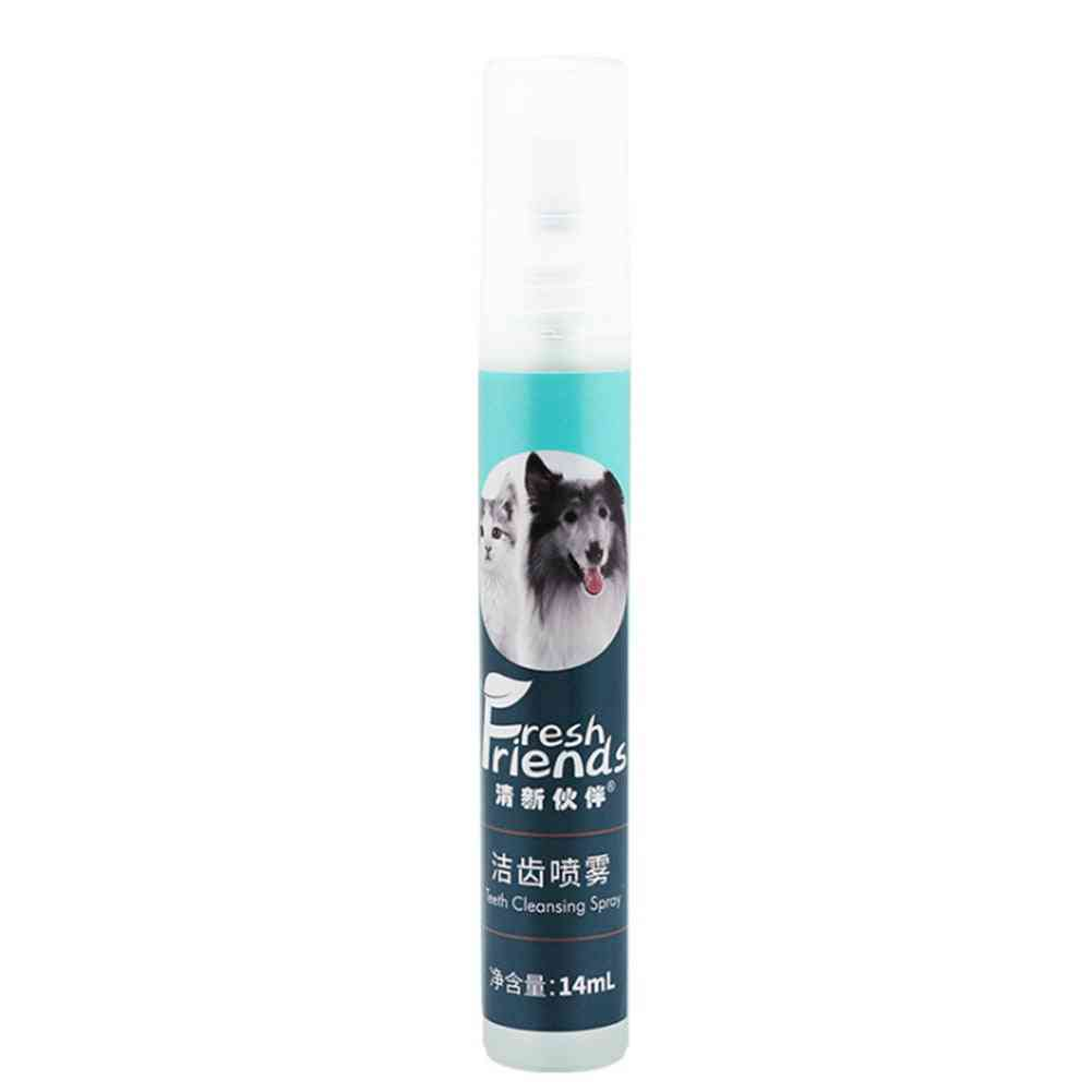 Dental Spray Bacteria Kill & Mist Cleaning Portable Oral Care, Small Dog & Cat Remove Bad Breath Plaque