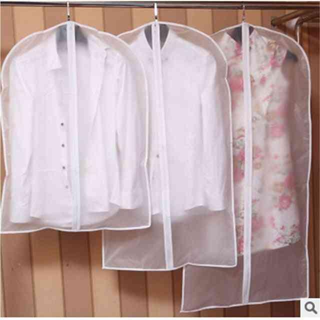 Garment Dress & Clothes Suit Coat Dust Cover - Wardrobe Hanging Bag