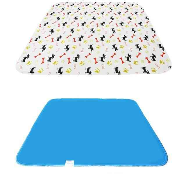 Waterproof Reusable Dog Bed - Puppy Pee Fast Absorbing Pad