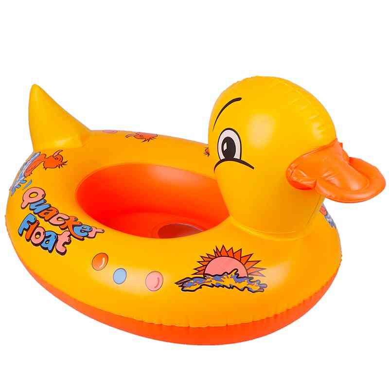 Yellow Duck - Baby Float And Inflatable Swimming Seat