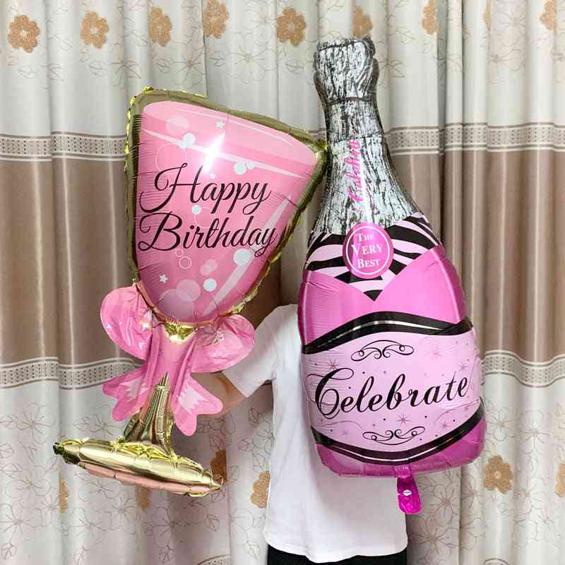 Balloon Champagne Goblet For Wedding