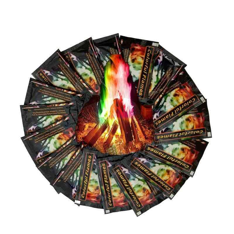 Mystical Fire Magic Tricks - Bonfire Camp Flames Powder