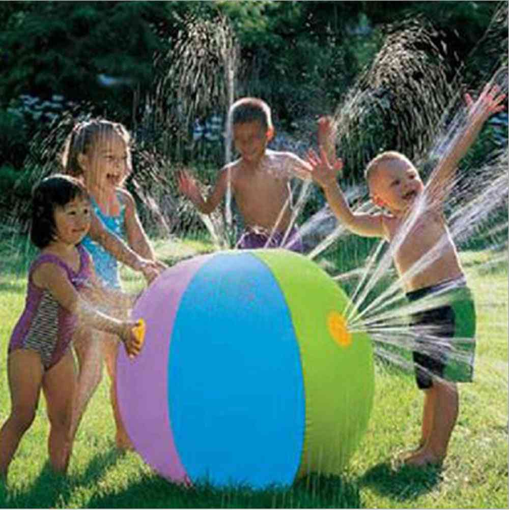 Inflatable Water Sprinkler Ball For Kids