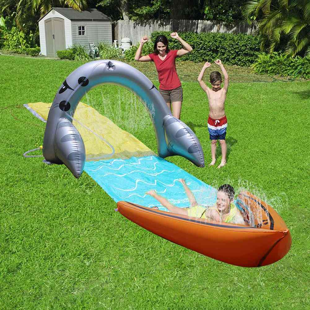 Children Water Slide For Outdoor Party And Fun Game
