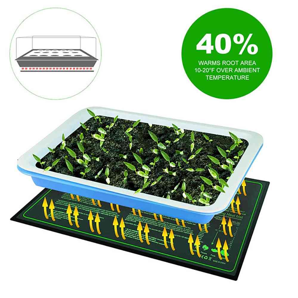Heating Pad, Waterproof, Warmer Bed Mat For Seed Germination Plant