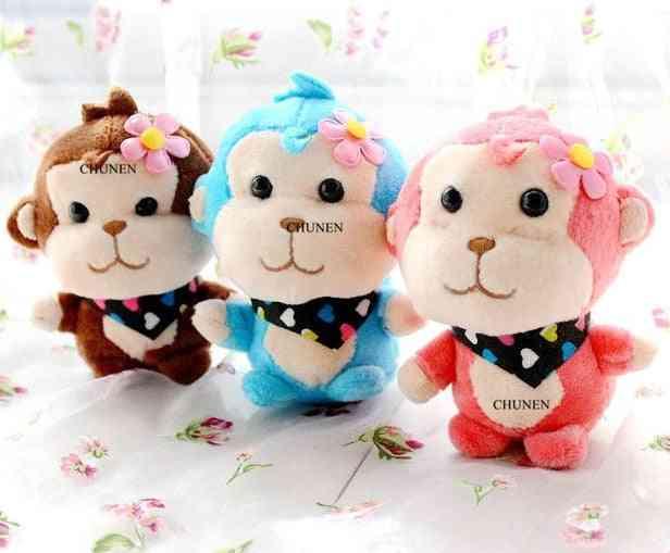 Little Cute New Stuffed Key Chain Plush , Baby Animal Toys Dolls