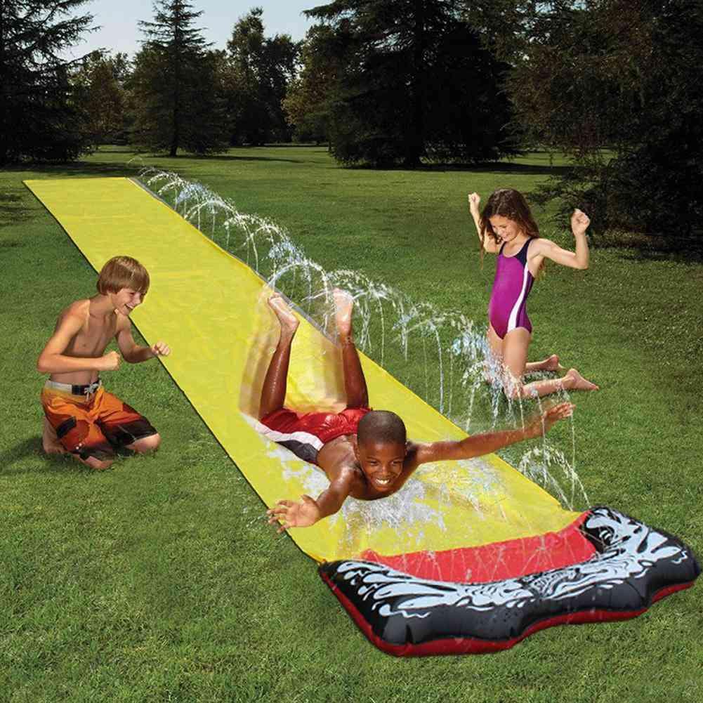 Summer Lawn Water Slide - Pvc Single Surf Water Slide For