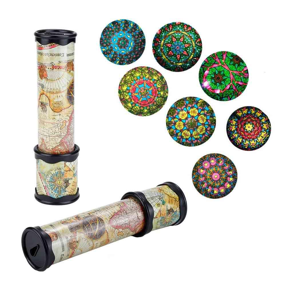 Scalable Rotation Kaleidoscope - Adjustable, Fancy Colored World