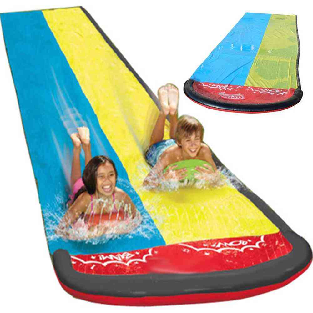 Double Surf Water Slide - Pvc Inflatable Lawn Water Pools