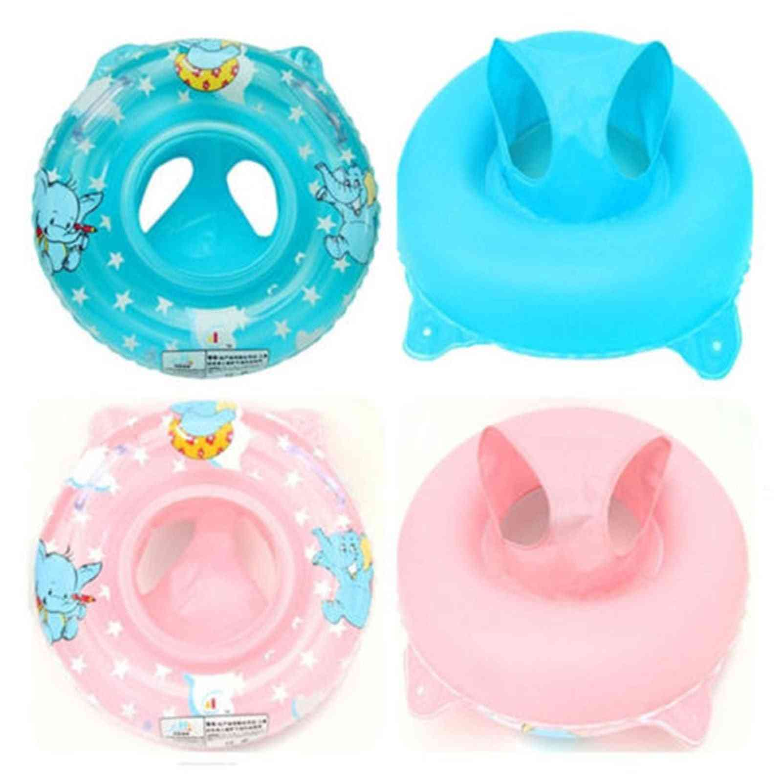 Inflatable Pool Water Swimming Toddler Safety Aid Float Seat Ring