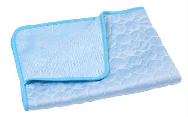 Pet Pad Summer Cooling Mat - Silk Moisture Proof