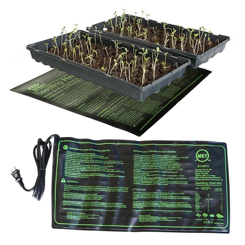 Seed Heating Mat - Waterproof, Plant Seed Clone Starter Pad
