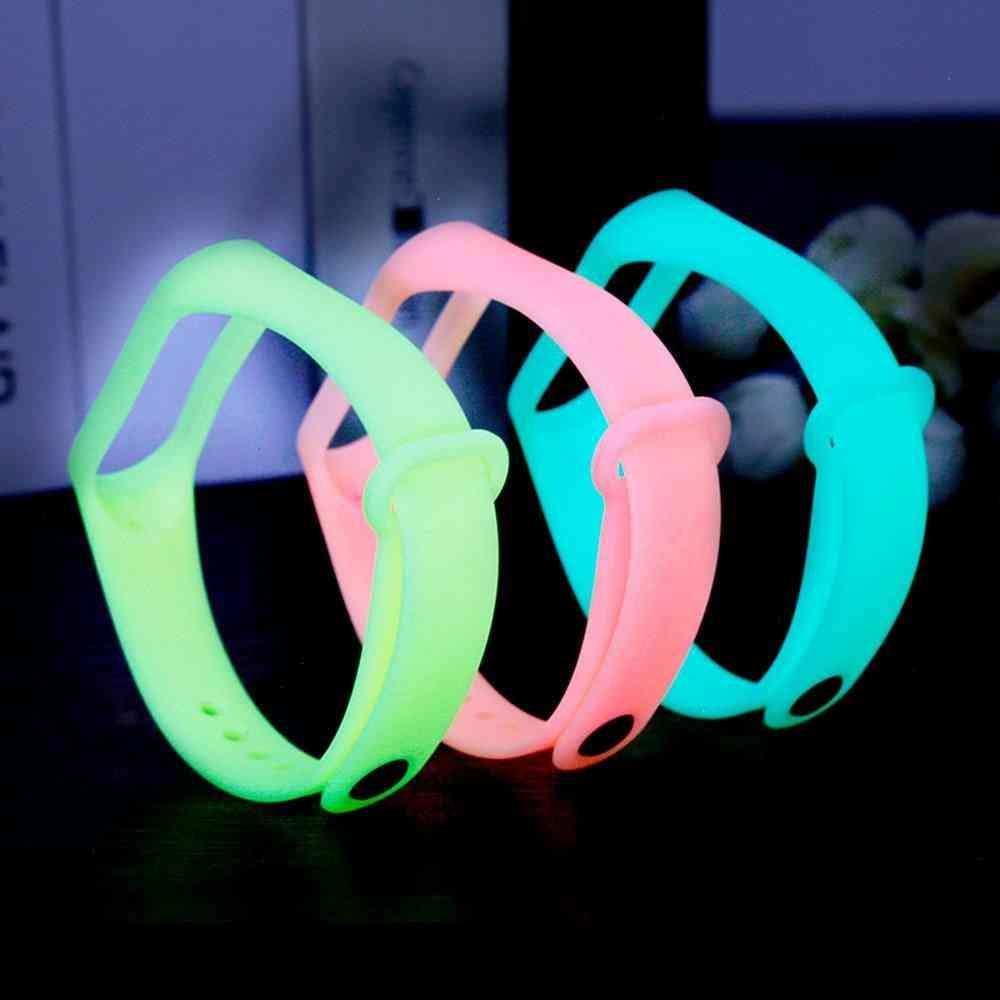 Fluorescent Luminous Wrist Strap-replacement Mi Band