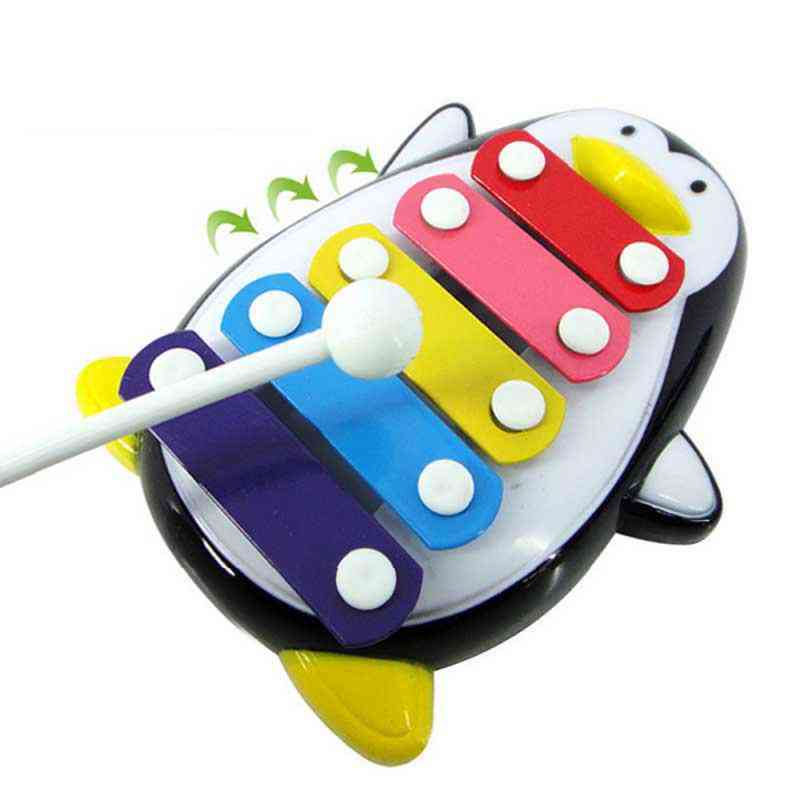 Adorable Penguin 5 Note Xylophone Musical- Birthdays Gifts For Kids Freeshipping