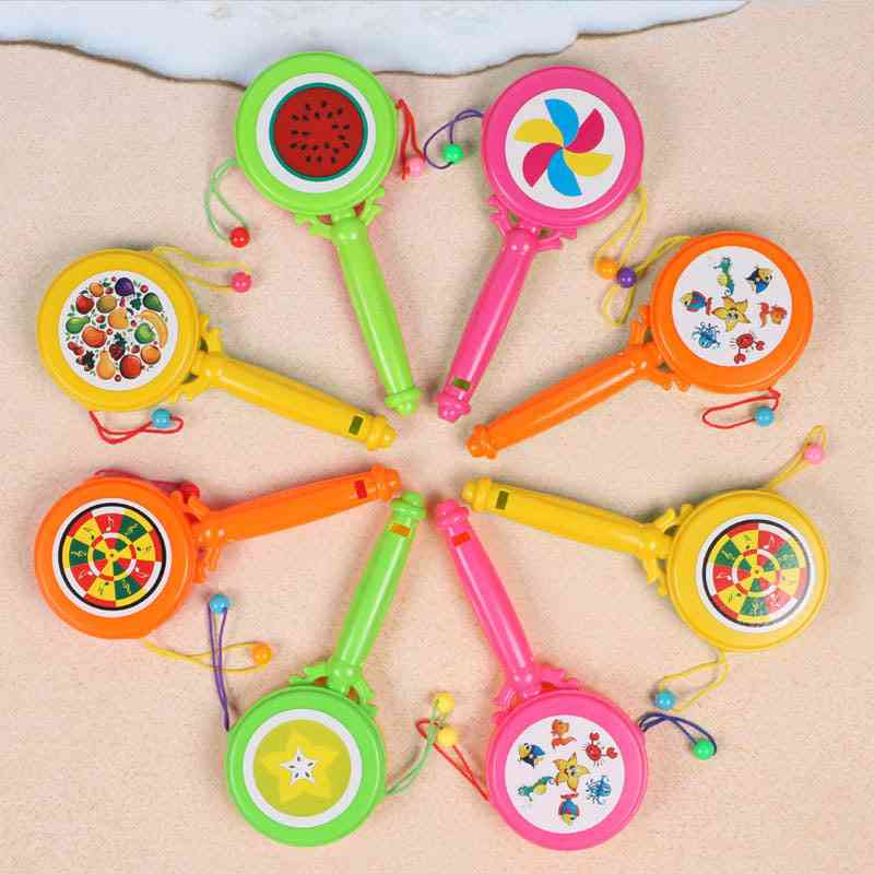 Durable Child Whistle Training Baby Plastic Hammer