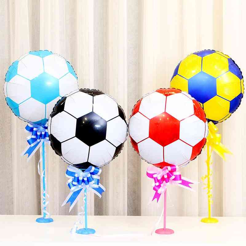 Football And Helium Balloons Fors