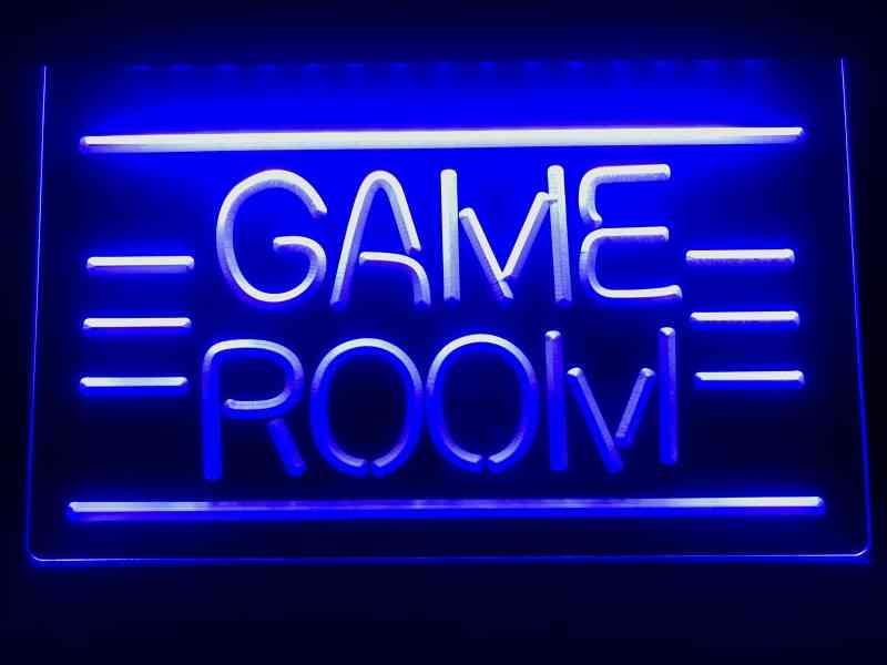 Game Room Displays - Tv / Led Neon Light Sign