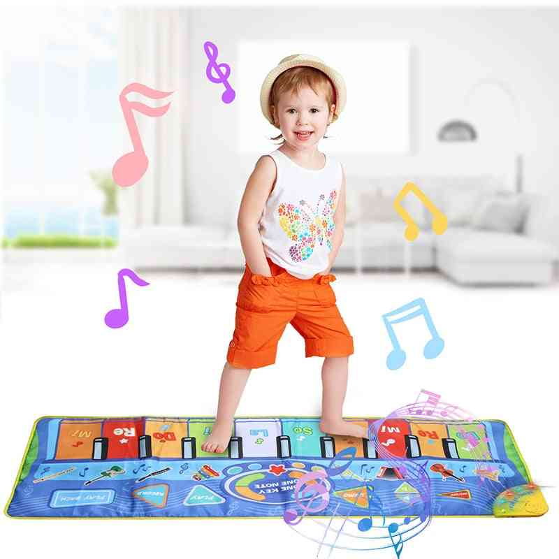 Multifunction Musical Instruments - Mat Keyboard Piano For Baby