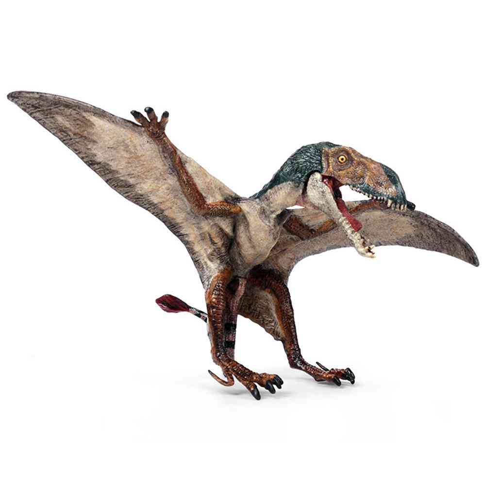 Realistic Pterodactyl Dinosaur Action Figurine Model Desktop Decor Kids Toy