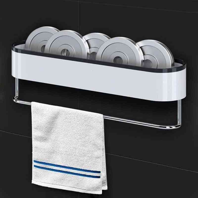 Wall-mounted Storage Racks - Organizer For Kitchen & Bathroom