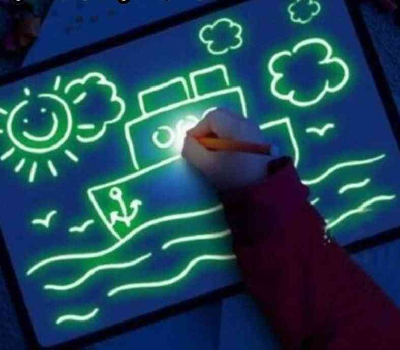 Magic Luminous Drawing Board, Draw With Light