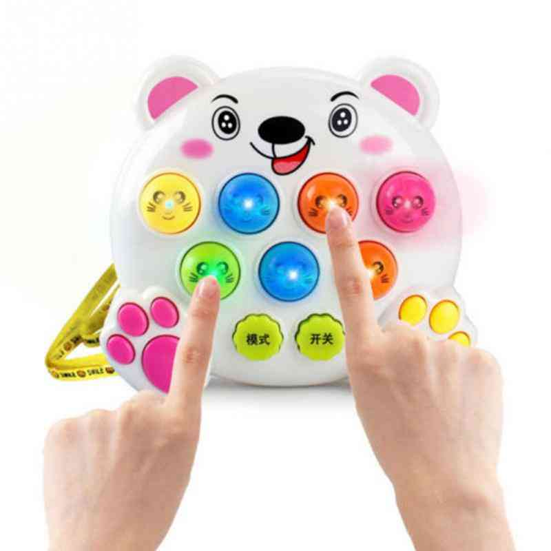 Plastic Music - Play Knock Hit Hamster Insect Game Fruit Worm Educational Instrument