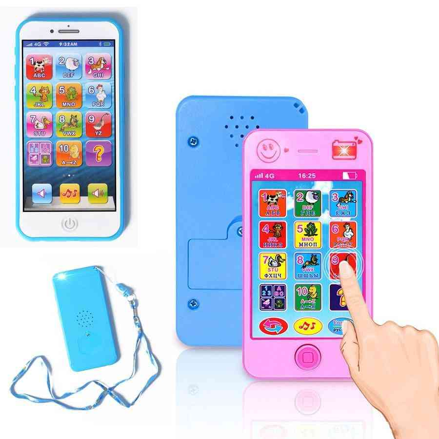 Alphabet Simulation - Musical Mobile Smart Phone, Early Learning Educational